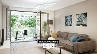 Appartements neufs Nouvelles Scènes éco-habitat à Aix-en-Provence