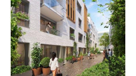 Appartement neuf Passage Oberkampf éco-habitat à Paris 11ème