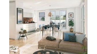 Appartements neufs Panorama investissement loi Pinel à Asnieres-sur-Seine