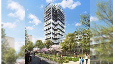 Appartement neuf High 17 investissement loi Pinel à Asnieres-sur-Seine