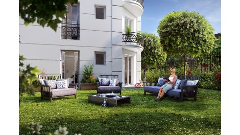 Appartement neuf La Rotonde investissement loi Pinel à Le Blanc Mesnil