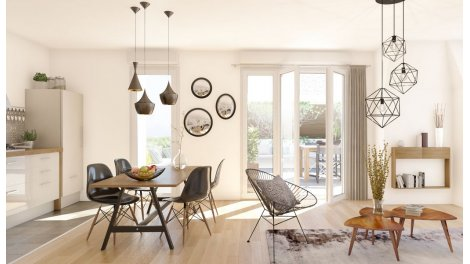 Appartement neuf Le Castelin investissement loi Pinel à Le Blanc Mesnil
