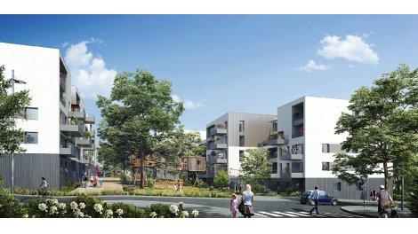 Appartement neuf Les Cabanes de Sermenaz éco-habitat à Rillieux-la-Pape