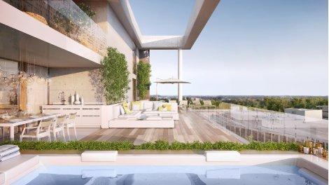 Appartement neuf Palomaya éco-habitat à Montpellier