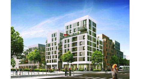 Appartement neuf La Fabric' investissement loi Pinel à Lyon 7ème