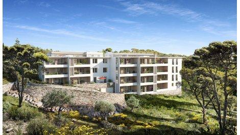 Appartement neuf Cote 12eme éco-habitat à Marseille 12ème
