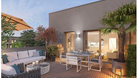 Appartement neuf Nature & Coteaux éco-habitat à Torcy