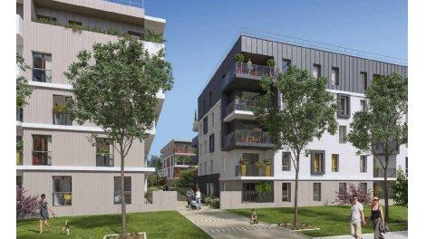 Appartement neuf En[vert]gure éco-habitat à Lognes
