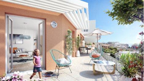 Appartement neuf Villa Galice investissement loi Pinel à Juan-les-Pins