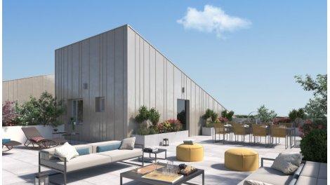 Appartement neuf Cantos éco-habitat à Saint-Brès