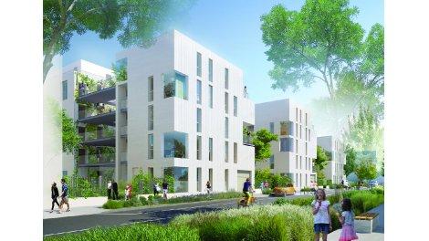 Appartement neuf Garden Village investissement loi Pinel à Villeurbanne
