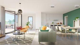 Appartements neufs Atmospheres éco-habitat à Colomiers