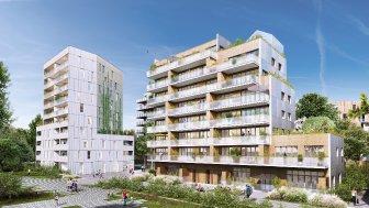 Appartements neufs Faubourg des Pepinieres éco-habitat à Lille