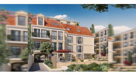 Appartement neuf Les Jardins d'Albine investissement loi Pinel à Maisons-Laffitte
