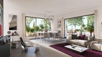 Appartements neufs Prado Collection investissement loi Pinel à Marseille 8ème
