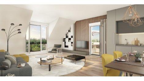 Appartement neuf L'Air du Temps investissement loi Pinel à Mennecy