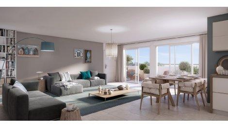Appartement neuf Nymphea investissement loi Pinel à Les Sables d'Olonne