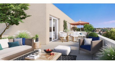 Appartement neuf Square 141 investissement loi Pinel à Pierre-Bénite