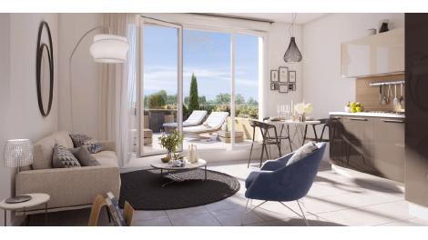 Appartement neuf République Parc éco-habitat à Clermont-Ferrand