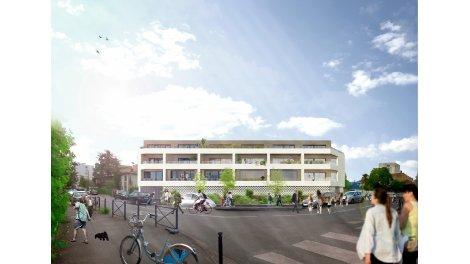Appartement neuf Clos Saint Charles éco-habitat à Bordeaux