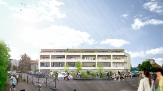 Appartements neufs Clos Saint Charles éco-habitat à Bordeaux