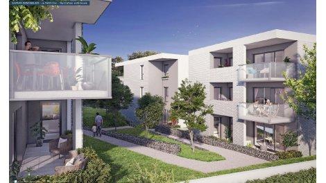 Appartement neuf Le Petit Clos éco-habitat à Pessac