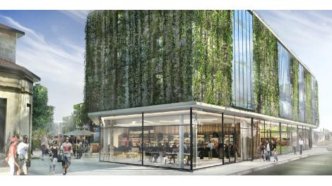 Appartement neuf Jardins Medoquine éco-habitat à Talence