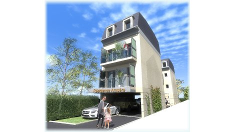 Appartement neuf Ampere investissement loi Pinel à Fontenay-sous-Bois