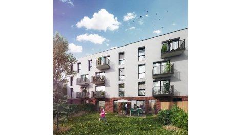 Appartement neuf La Bayadere éco-habitat à Armentières