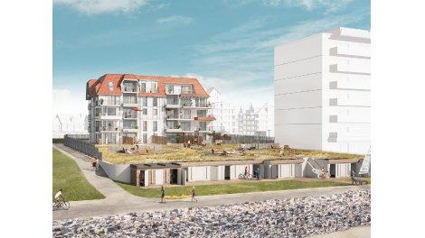 Appartement neuf L'Hermione éco-habitat à Neufchâtel-Hardelot