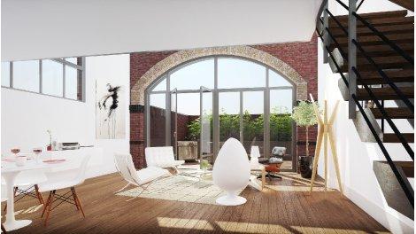 Maisons neuves Alcove éco-habitat à Lille