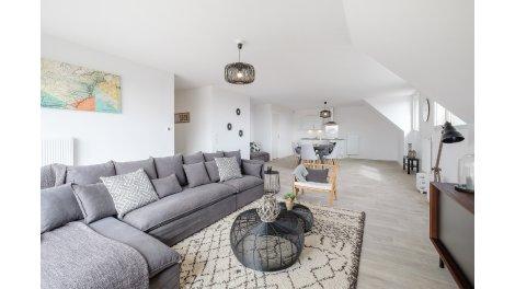 Appartement neuf Quai 17 éco-habitat à Valenciennes