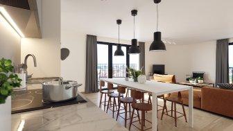 Appartements neufs Brooklyn Tower investissement loi Pinel à Marquette-Lez-Lille