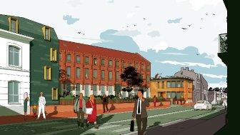 Appartements neufs La Cour des Geants éco-habitat à Douai
