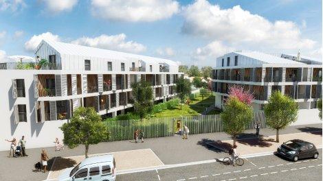 Appartement neuf Equilibre éco-habitat à Bordeaux