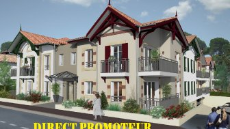Appartements neufs Villa Nascita éco-habitat à Arcachon