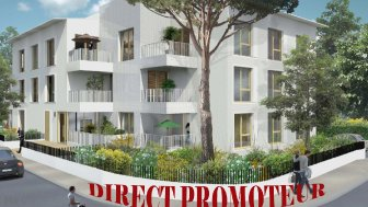 Appartements neufs Villa Serena investissement loi Pinel à Pessac
