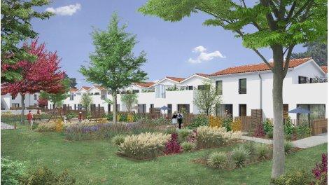 Appartements et maisons neuves Green Cottage éco-habitat à Saint-Médard-en-Jalles