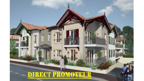 Appartement neuf Villa Nascita éco-habitat à Arcachon