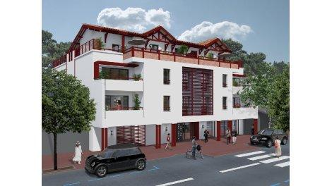 Appartement neuf Kwyver éco-habitat à Biscarrosse