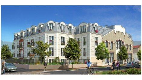Appartement neuf Villa Médéric investissement loi Pinel à La Garenne Colombes