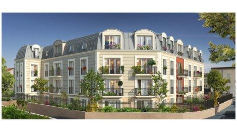 villa mederic la garenne colombes programme immobilier neuf. Black Bedroom Furniture Sets. Home Design Ideas
