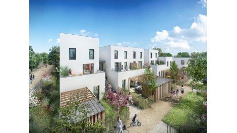 Appartements et maisons neuves Jardins Majolans éco-habitat à Meyzieu