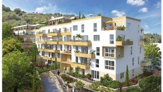 Appartements neufs Esprit Sud investissement loi Pinel à Cagnes-sur-Mer