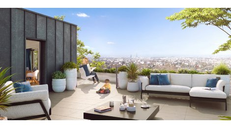 Appartement neuf Le Bellevue investissement loi Pinel à Ormesson-sur-Marne