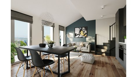 Appartement neuf Gentry Opera investissement loi Pinel à Pantin
