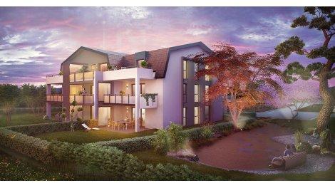 Appartement neuf Hanami investissement loi Pinel à Saint-Louis