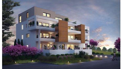 Appartement neuf L'Orangerie 2 investissement loi Pinel à Lutterbach