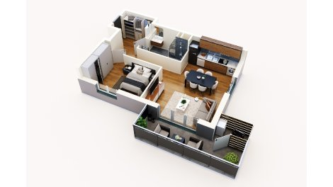 appartement neuf à Metz