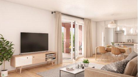 Appartement neuf Oakwood éco-habitat à Nantes